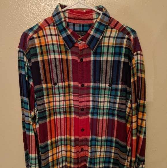 56b00b5a6458 American Eagle Outfitters Other - Men s American Eagle Outfitters Flannel  Shirt